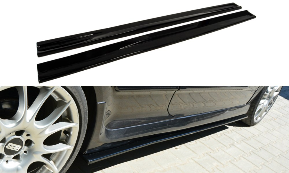 Dokładki Progów Opel Astra H (Do OPC / VXR) - GRUBYGARAGE - Sklep Tuningowy